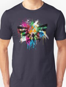 Hylian Paint Splatter Unisex T-Shirt