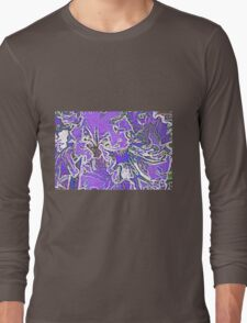 Iris - Abstract Long Sleeve T-Shirt