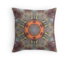 Beetroot and Carrot Mix Throw Pillow