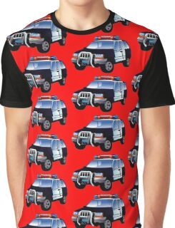 Kids Police Car Graphic T-Shirt
