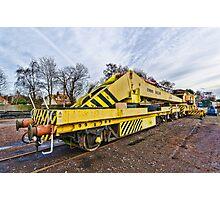 Railway crane Photographic Print