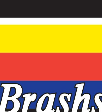 Brashs Square Sticker