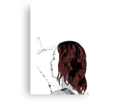 Mary J Spidey Kiss Canvas Print