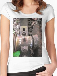 Grease Nipple Women's Fitted Scoop T-Shirt