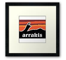Arrakis Framed Print