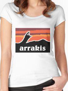 Arrakis Women's Fitted Scoop T-Shirt