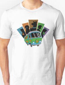 MYSTERY PALS Unisex T-Shirt