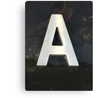 Vancouver Urban Alphabet - A Canvas Print