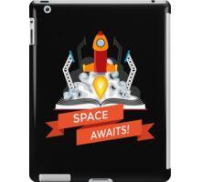 Rocket Launch Illustration iPad Case/Skin