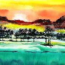 Good Evening 2 by Anil Nene