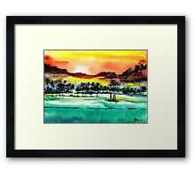 Good Evening 2 Framed Print