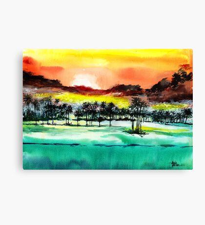 Good Evening 2 Canvas Print