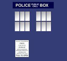 Police Box New Blue Unisex T-Shirt