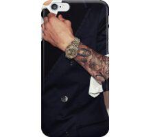 Justin Bieber arm tattoos iPhone Case/Skin