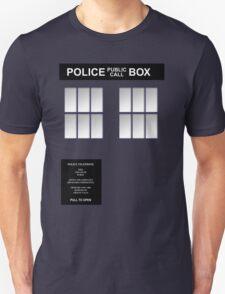 Police Box Classic Blue T-Shirt