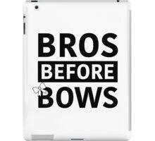 Bros Before Bows iPad Case/Skin