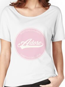 ADORE DELANO Women's Relaxed Fit T-Shirt
