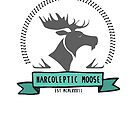 Narcoleptic Moose by mostly10