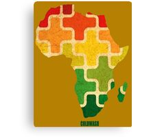 AFRICAN PUZZLE Canvas Print