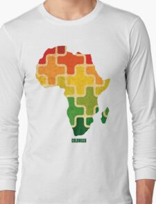 AFRICAN PUZZLE Long Sleeve T-Shirt