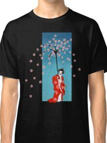 Spring Snow Parasol Classic T-Shirt