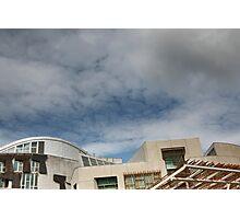 scottish parliament (1) Photographic Print