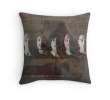 Sleeping With Sirens- Albums Throw Pillow