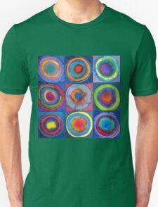 Circles - abstract watercolour Unisex T-Shirt