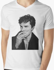 Benedict Cumberbatch Mens V-Neck T-Shirt