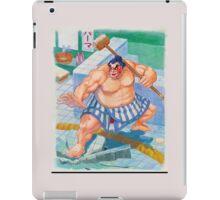 street fighter e honda  iPad Case/Skin