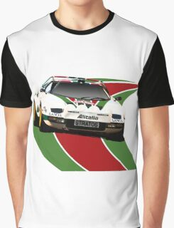 Alitalia Lancia Stratos  Graphic T-Shirt