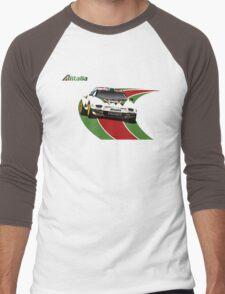 Alitalia Lancia Stratos  Men's Baseball ¾ T-Shirt