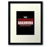Nakamura ALT 2 Framed Print