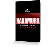 Nakamura ALT 2 Greeting Card