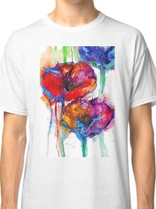 Poppy Petals Classic T-Shirt