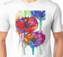 Poppy Petals Unisex T-Shirt