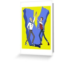 Go Team Venture! - Venture Brothers Greeting Card