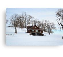 The Summer Home Canvas Print