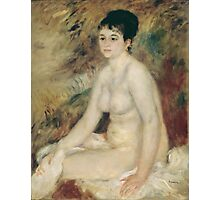 Auguste Renoir - After the Bath 1876 Woman Portrait Fashion Photographic Print