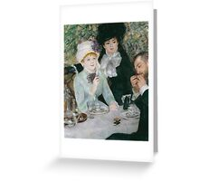 Auguste Renoir - After the Luncheon 1879 Greeting Card