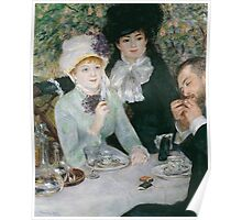 Auguste Renoir - After the Luncheon 1879 Poster