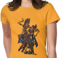 Exotic Bali Dancers Womens Fitted T-Shirt