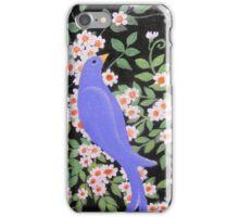 Beautiful Blue Bird iPhone Case/Skin