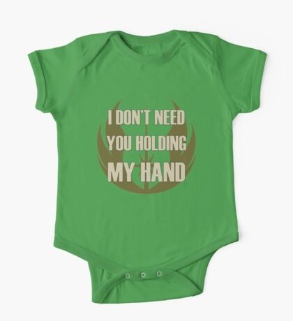 Don't Hold My Hand One Piece - Short Sleeve