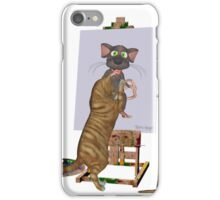 Artists at Work .. March Cats iPhone Case/Skin
