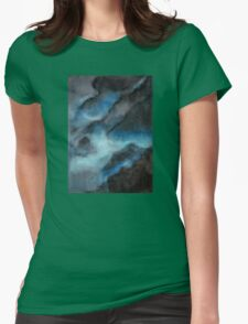 bioluminescence Womens Fitted T-Shirt