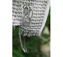himalayan prayer flag (1) Photographic Print