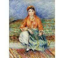 Auguste Renoir - Algerian Girl 1881 Fashion Woman Portrait Photographic Print
