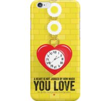 The Tin Man's Heart - Wizard of Oz iPhone Case/Skin