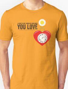 The Tin Man's Heart - Wizard of Oz Unisex T-Shirt